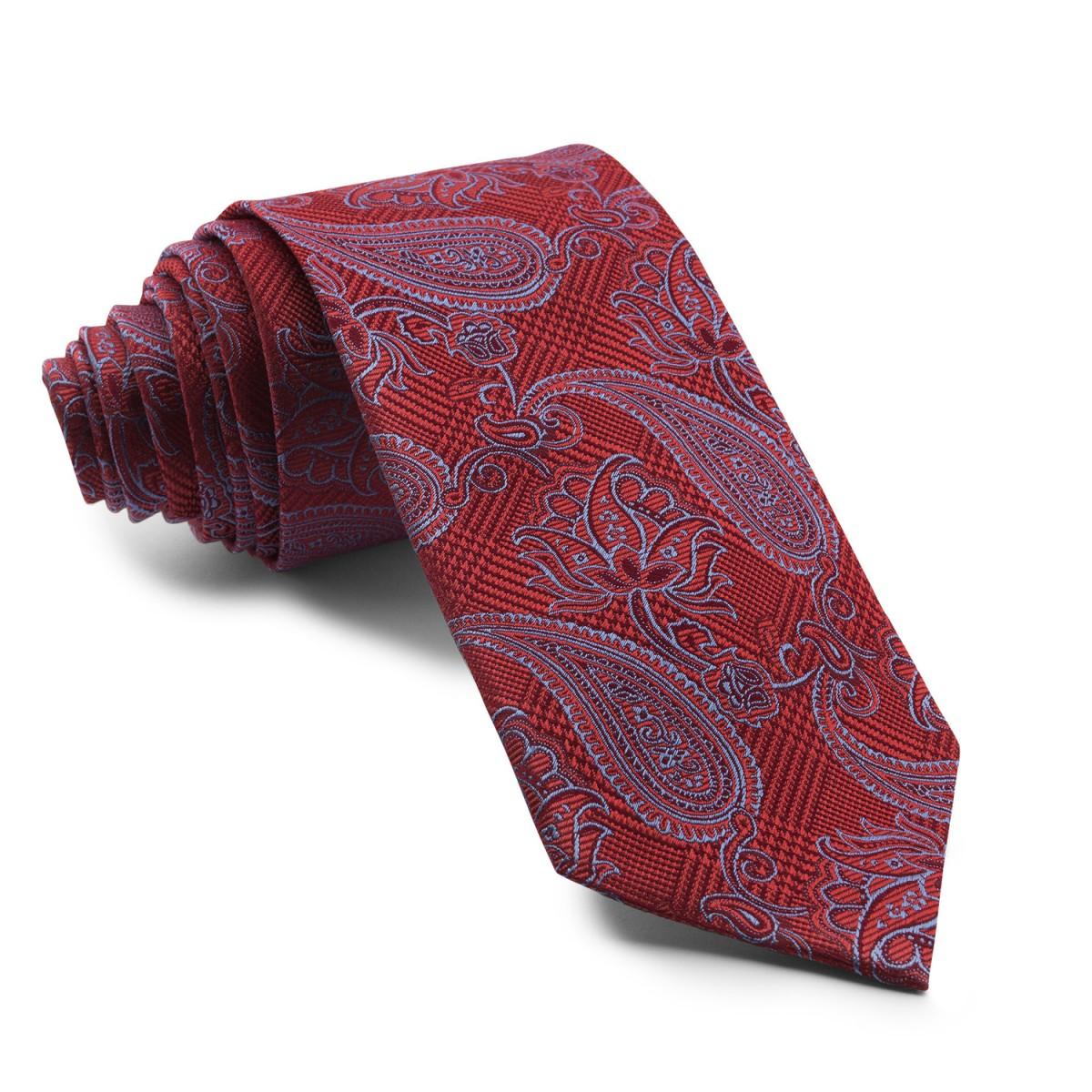 Corbata-Burdeos-Cachemir-con-dibujos