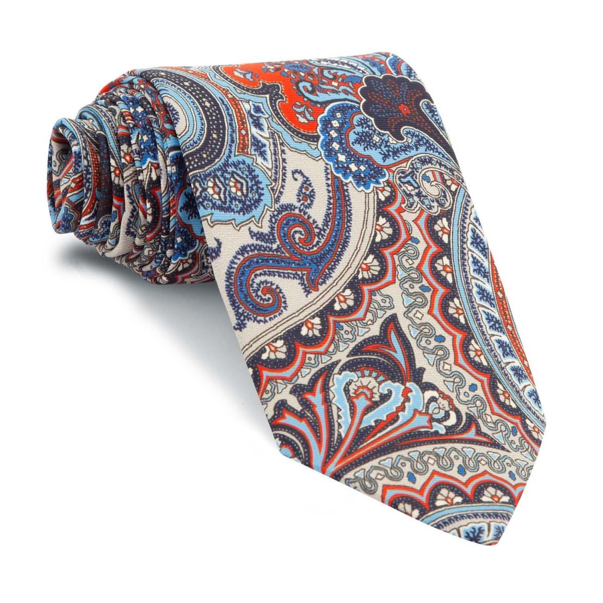 Corbata-Gris-Cachemires-Azules-y-Rojos