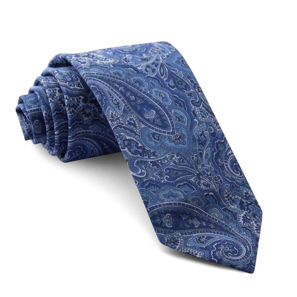 Corbata-Liberty-Cachemir-Azul