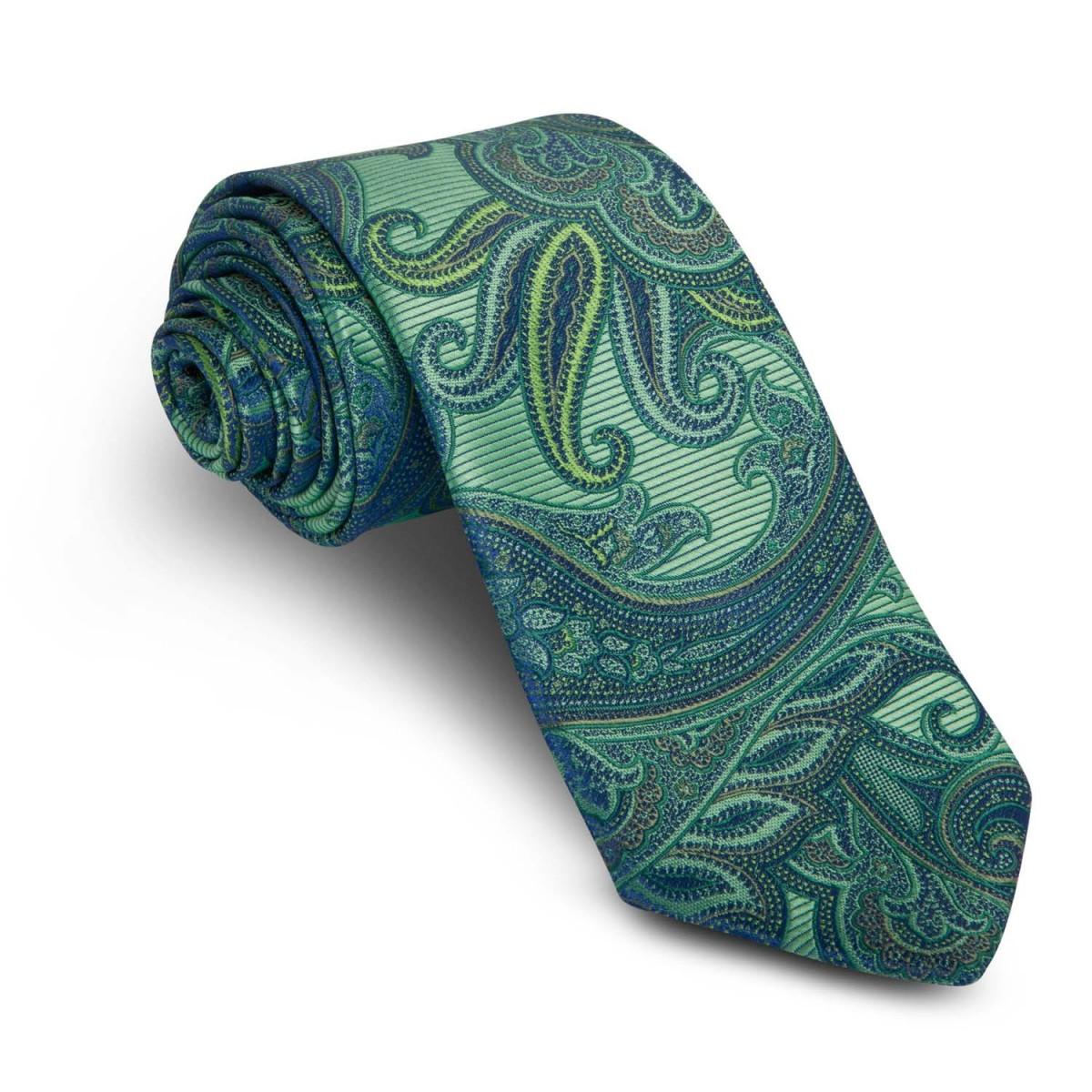 Corbata-Verde-Cachemires