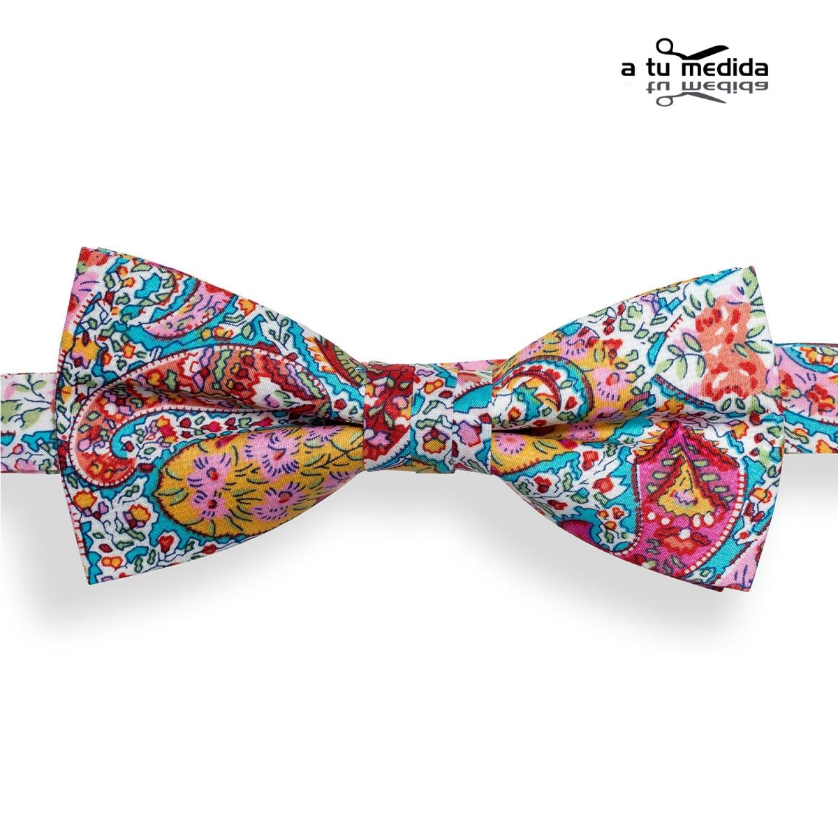 Pajarita-Turquesa-Dibujos-Multicolor