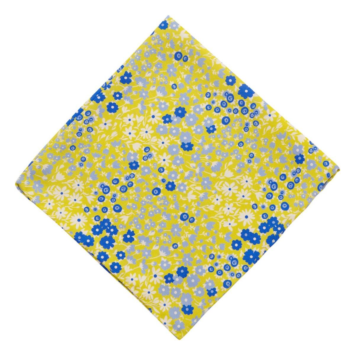 Panuelo-Amarillo-Flores-Azules