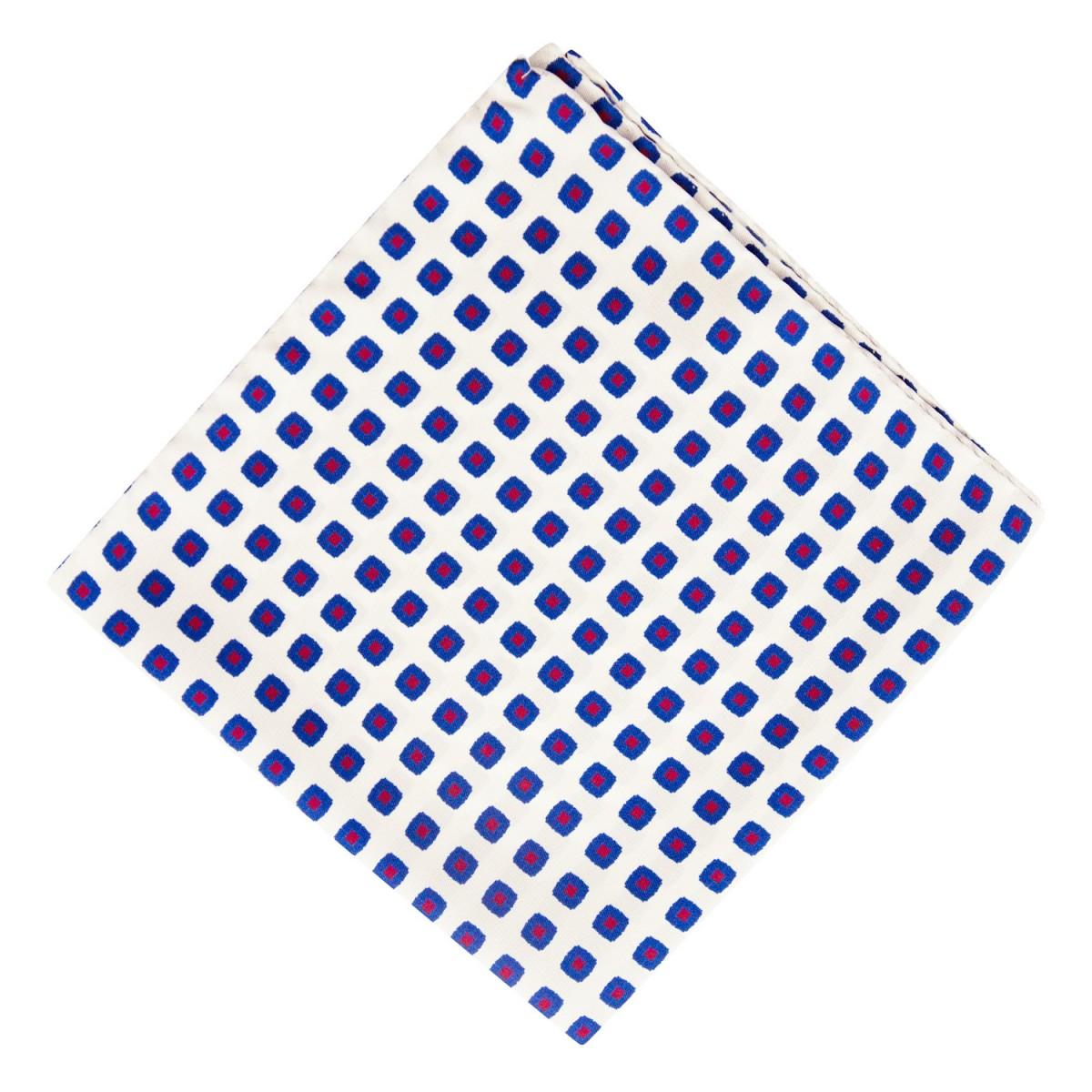 Panuelo-Blanco-Dibujo-Azul-y-Rojo
